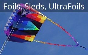 ParaFoil, Sled and UltraFoil Kites
